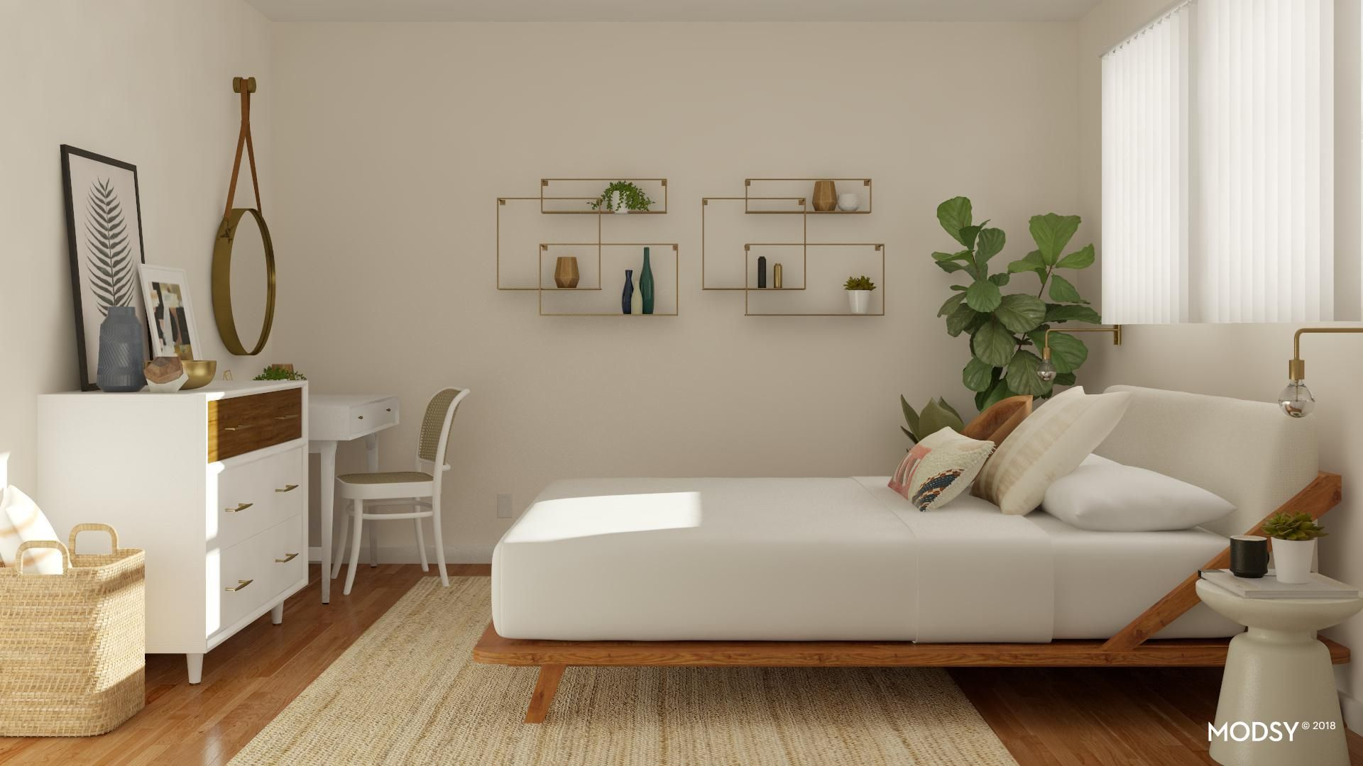 Review Modsy Virtual Bedroom Design Before After Jessoshii