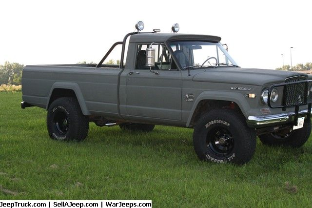 Used Jeeps And Jeep Parts For Sale 1970 Jeep Gladiator J 3000