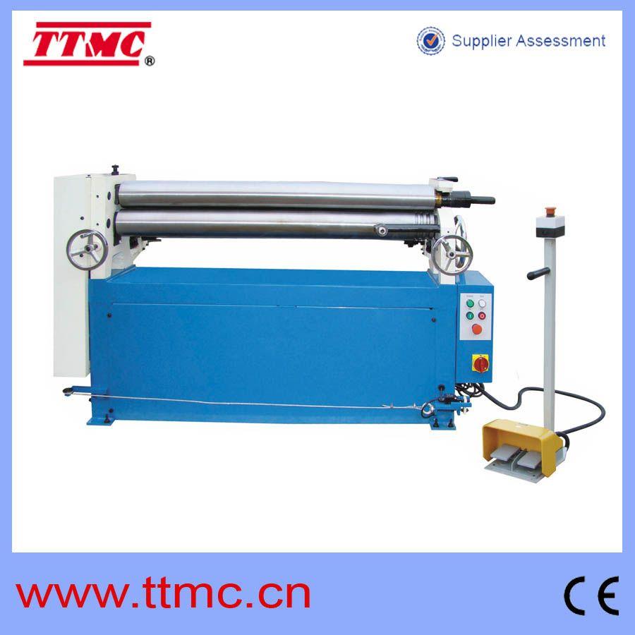 Ttmc Manufacture 1500mm Width Roller Bending Machine Esr1550x3 5 Manufacturing Sheet Metal Roller