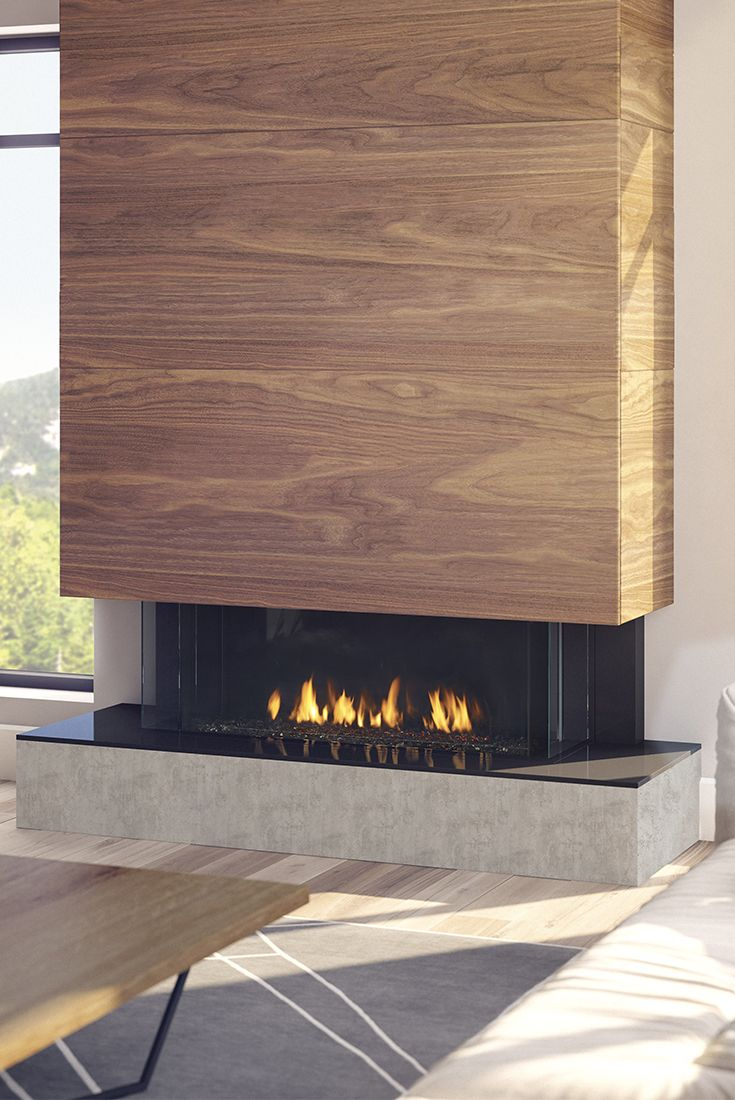 Meet The Regency City Series San Francisco Bay 40 Use Any Finishing Material Right To The Edge Of The Fir Modern Fireplace Fireplace Wood Fireplace Surrounds
