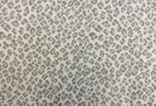 Stanton Carpet Animal Print Silver Felix For Craft Room