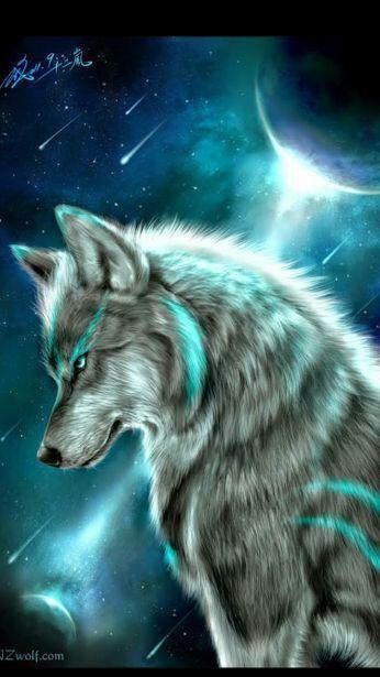 Wolfje Schatig Cool Wölfe Wolf Grauer Wolf Und Wolf Malen