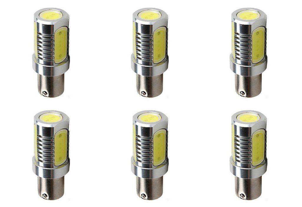 6w Cob Led 12v Light Bulb Ba15s Ba15d 1156 1157 Truck Train Bus Lamp 6 Pack Lowvoltage Energysaving Led 12v Solarlight Electroni Bulb Light Bulb Lamp