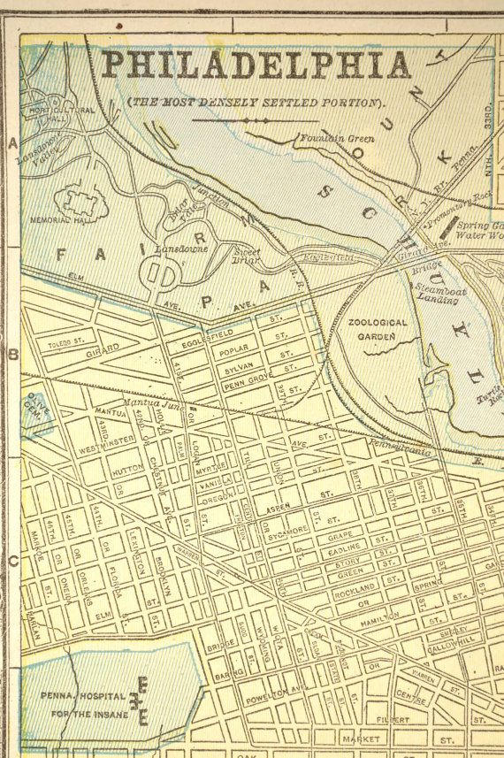 This is a graphic of Printable Map of Philadelphia within clipart