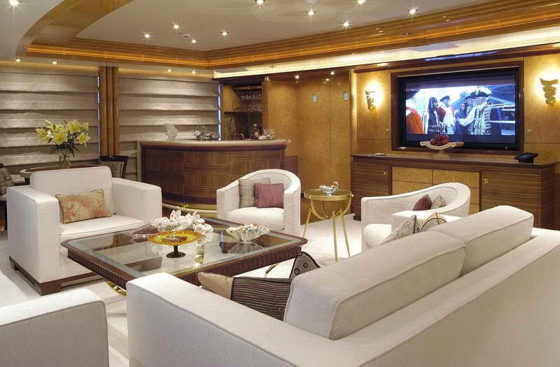 Boat Interior Design Ideas 12 boat interior design ideas Interiors Of Luxury Yachts Luxury Yacht Interior Design With Glass Desk