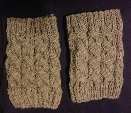 Ravelry Cabled Boot Cuffs Pattern By Ann Saglimbene Knit Love