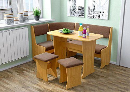 Kitchen Dining Bench With Chairs Set Kitchen Nook Set Fiji Alder