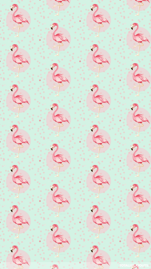 http www totallylayouts com iphone pink dotted flamingos png
