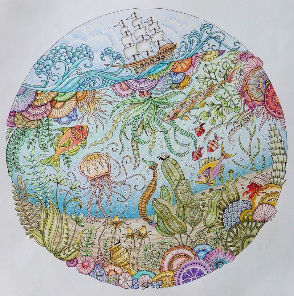 Drawn By Johanna Basford