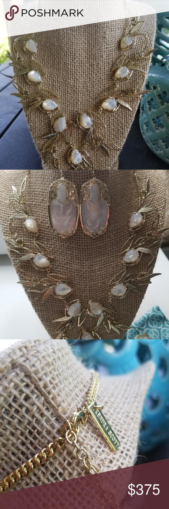 Soldks magnolia necklace my posh picks pinterest quartz