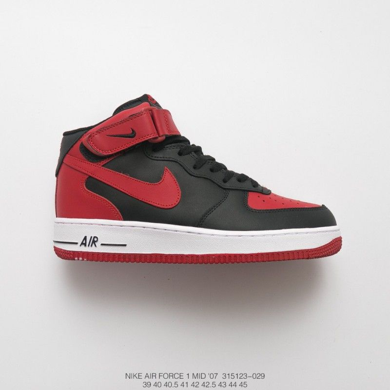 sports shoes 67889 f2507 Fsr Mens Nike Air Force 1 Mid Bred Presents The Classic Air ...