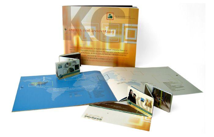 What we do: print brochures