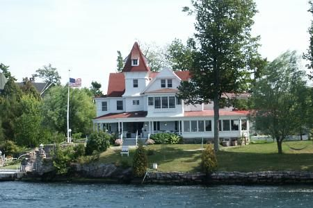 Summer home in the Thousand Islands.