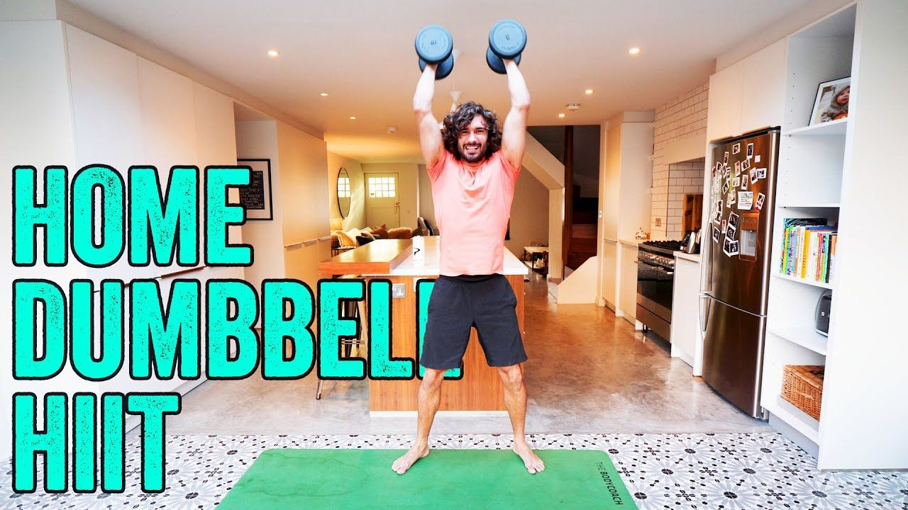 15 Minute Home Dumbbell Workout | The Body Coach TV #dumbbellworkout