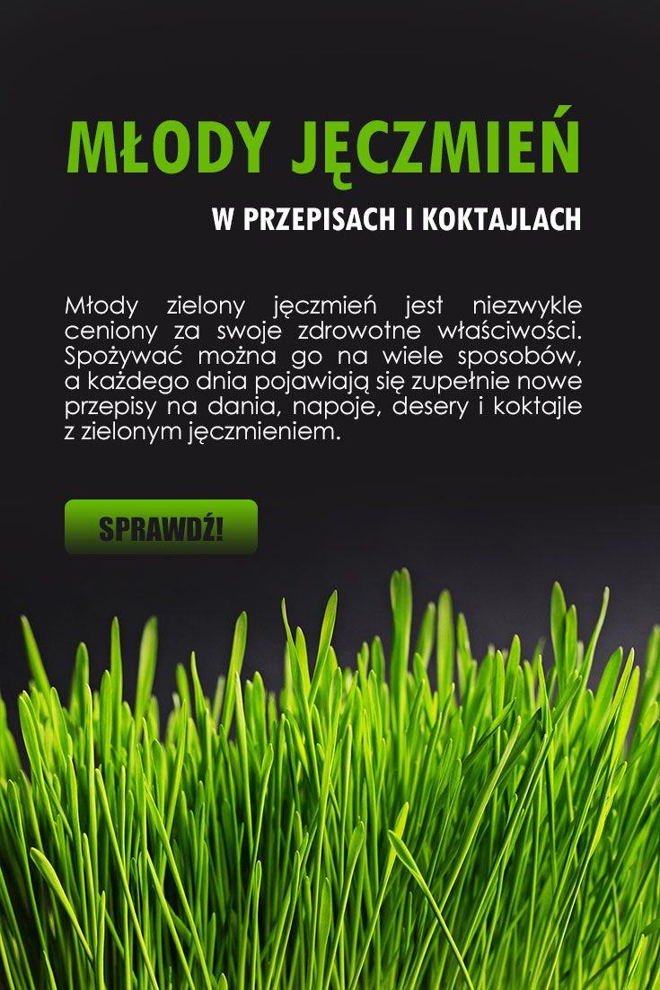 mlody jeczmien a zielony jeczmien