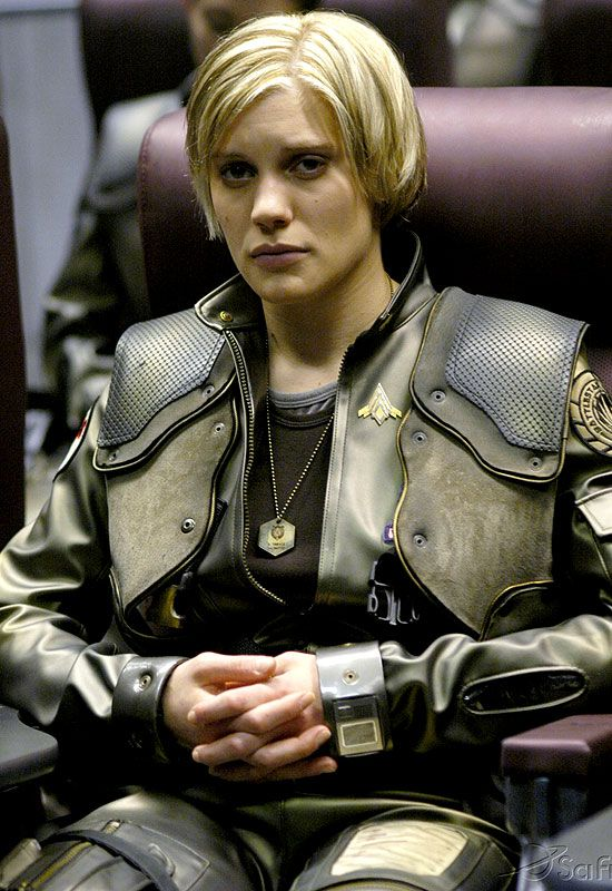 Battlestar galactica busty warrior woman