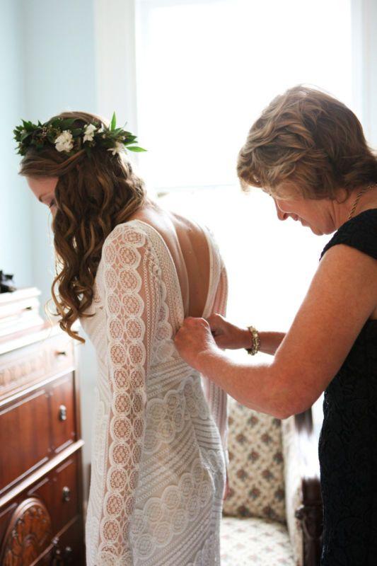 Wtoo Pallas Wedding Gown Dress Long Sleeve Lace size 6 | Weddings ...