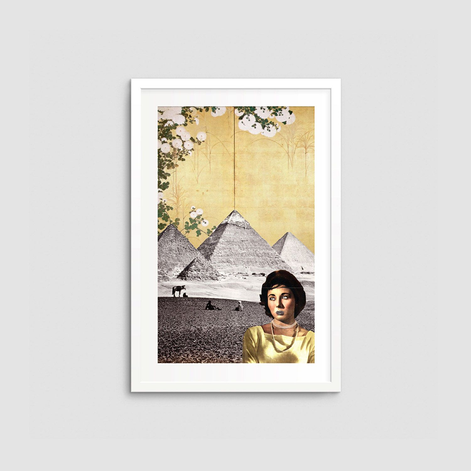 Limited Edition Feminist Collage Art Print - Wall Art - Poster ...
