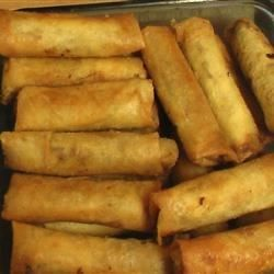 Its easy to make lots and lots of these cream cheese based rounds filipino dish lumpiang shanghai spring roll thanks jesusa these were delicious forumfinder Gallery