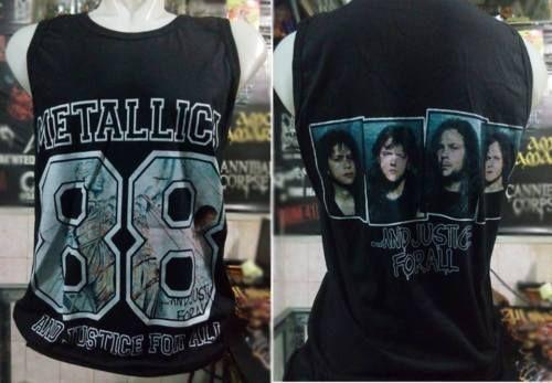 ac9e3a11 Metallica-And-Justice-For-All-Tank-Top-shirt-Metal-Rock-Band-Medium ...