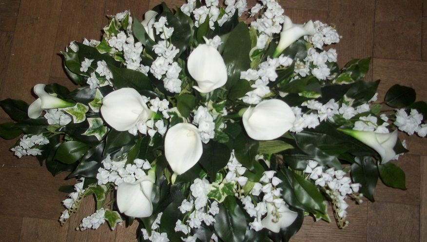 silk flowers for the top table