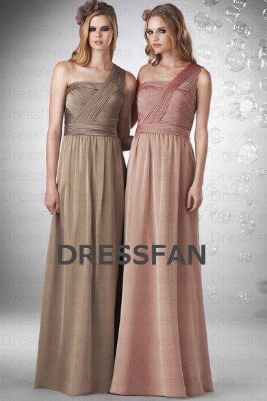 Light Coffee Bridesmaid Dresses