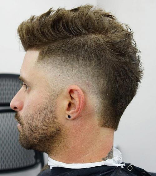 40 Attractive Mohawk Fade Haircuts Charming Style With Creative Details Mohawk Hairstyles Men Mens Haircuts Fade Mohawk Hairstyles