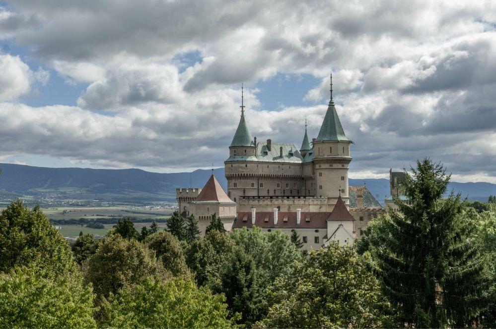 Bojnický zámok. Foto - Tomáš Hulík.