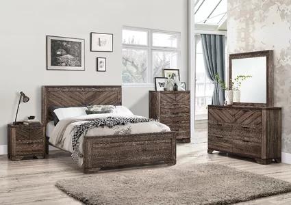 Foundstone Posie Standard Bed Rustic Bedroom Furniture Rustic Bedroom Furniture Sets Bedroom Set