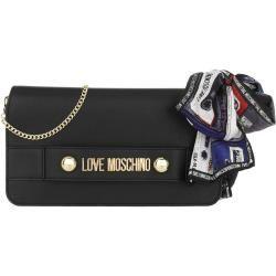 Love Moschino Logo Chain Crossbody Bag Nero in schwarz Umhängetasche für Damen Moschinomoschino