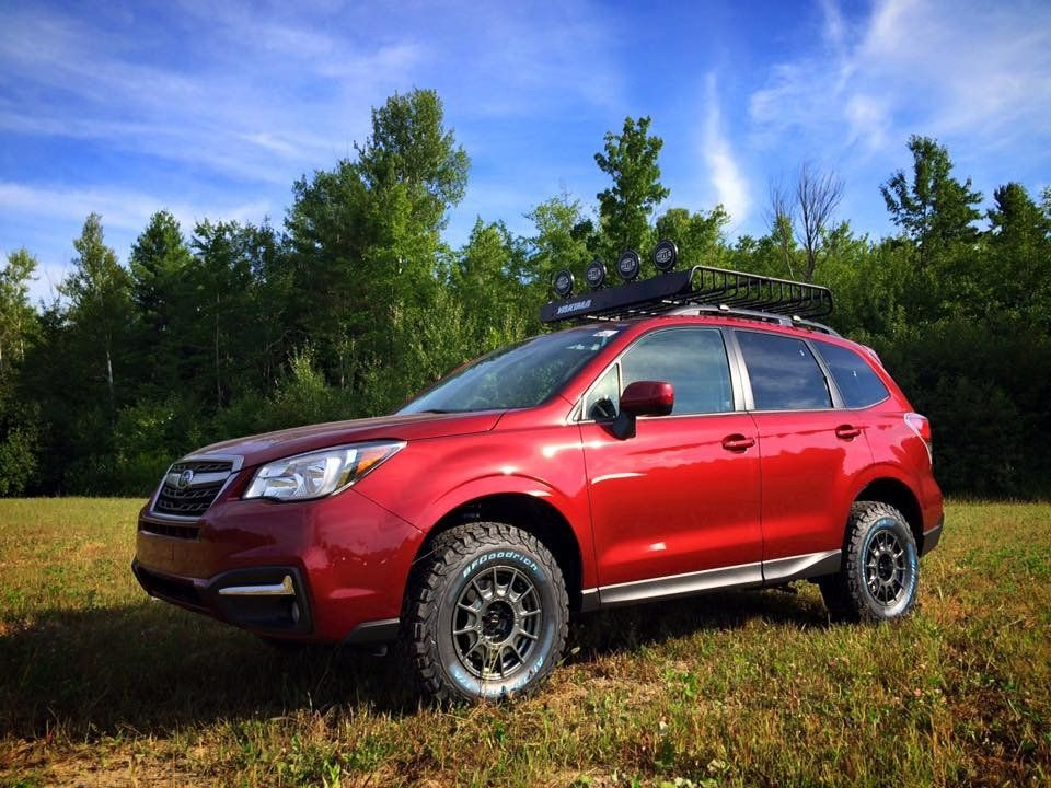 Offroad 2017 2 5i Subaru Forester Venetian Red Pearl