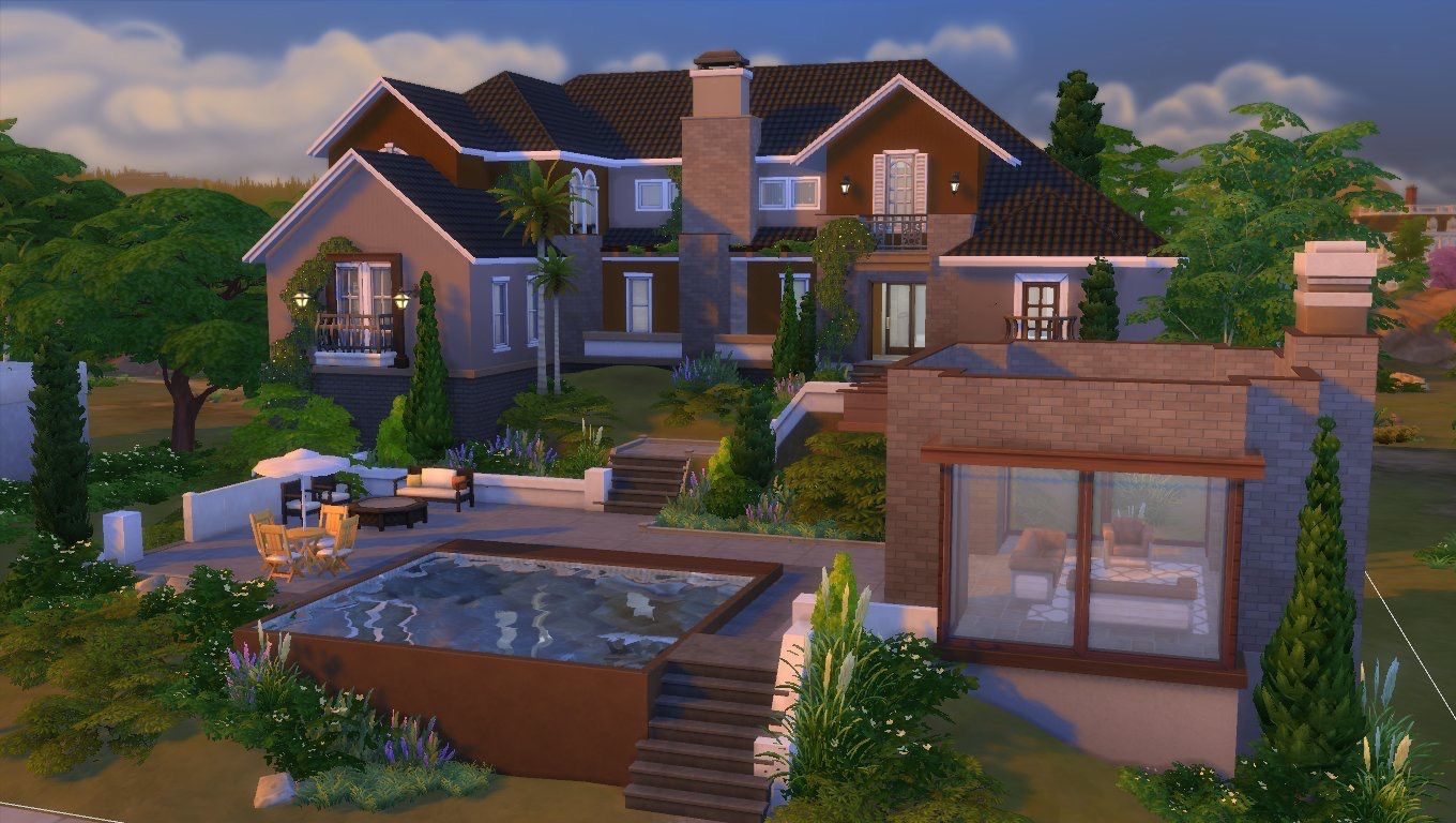 The Sims 4 House Build Sims House Design Sims 4 Houses Sims 4