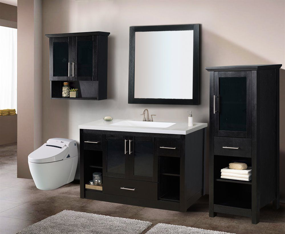 Style Selections Torylynn Blackberry Transitional Bathroom Vanity ...