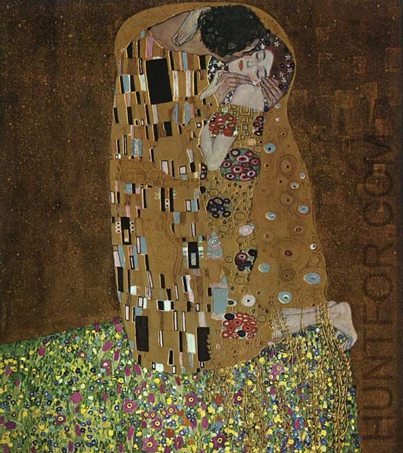 Klimt, The Kiss
