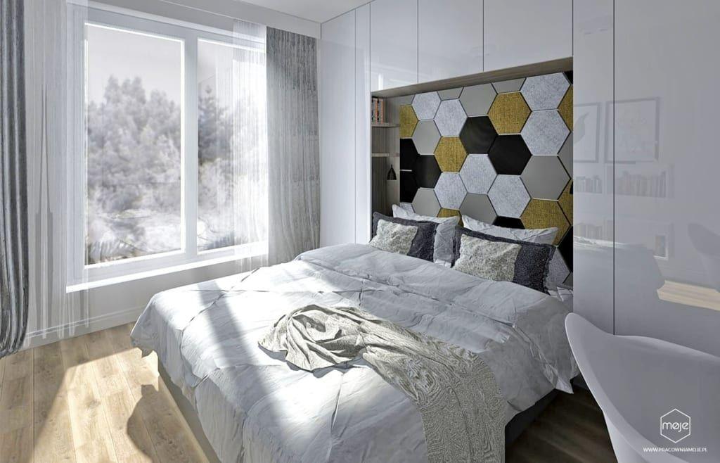 Skandynawska Sypialnia Gdansk Osiedle Sloneczna Morena Pracownia Projektowa Moje Skandynawska Sypialnia Homify In 2021 Home Decor Home Decor