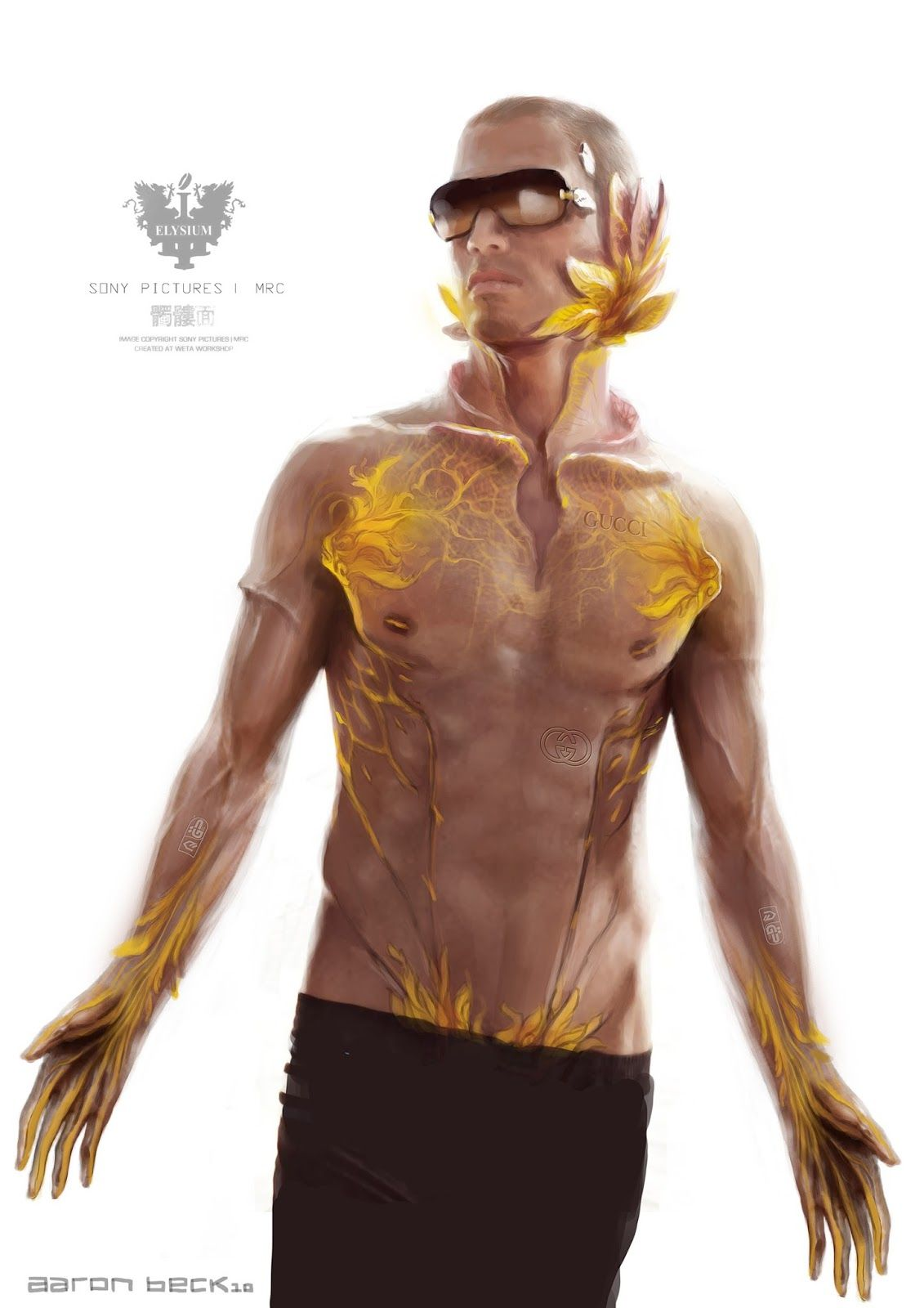 Elysium Sex Robot Concept Art And More Preview
