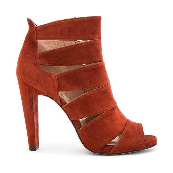 c91b1e6de Pura Lopez Cutout Heel (420 BAM) ❤ liked on Polyvore featuring shoes