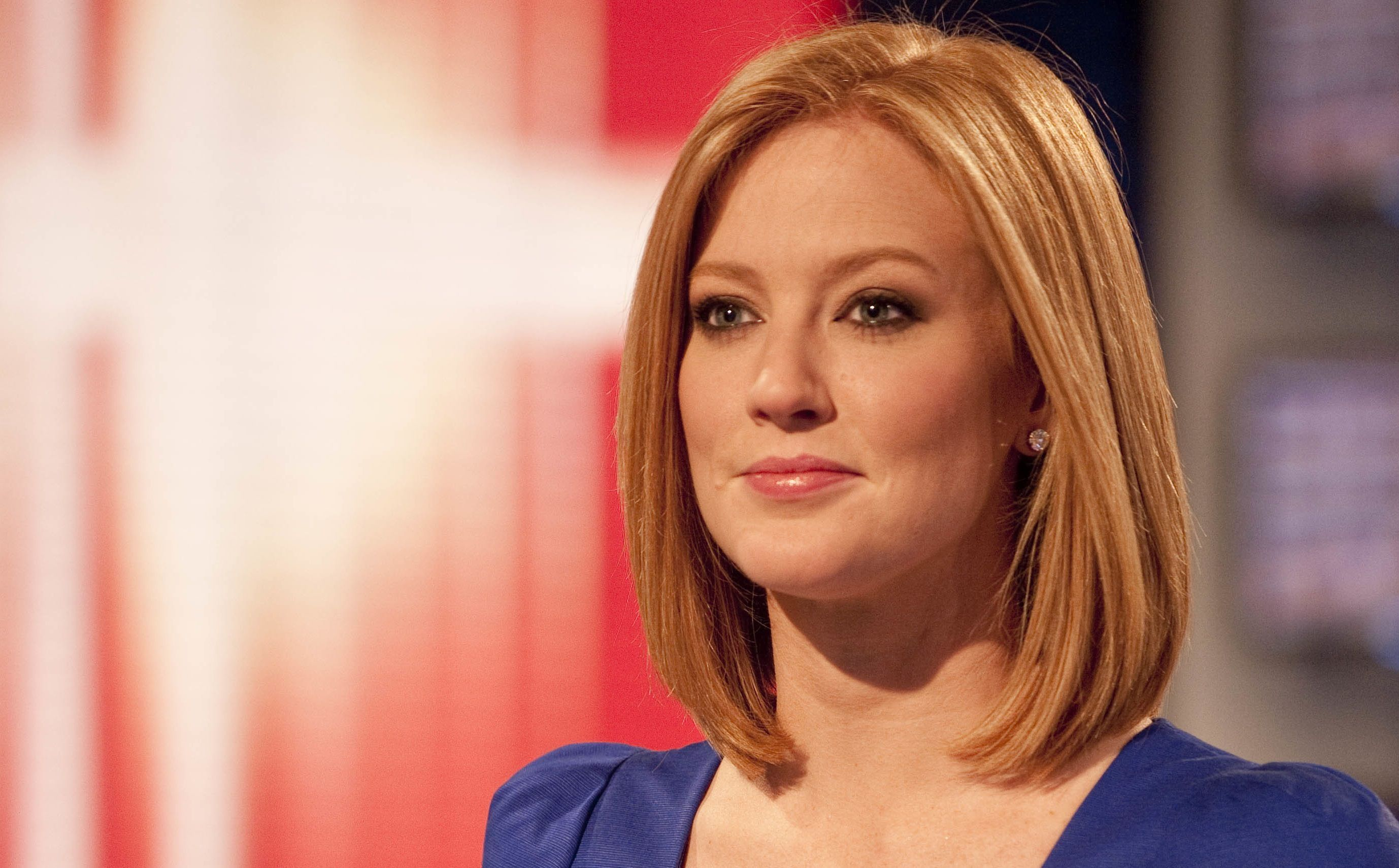 News presenter sky female redhead