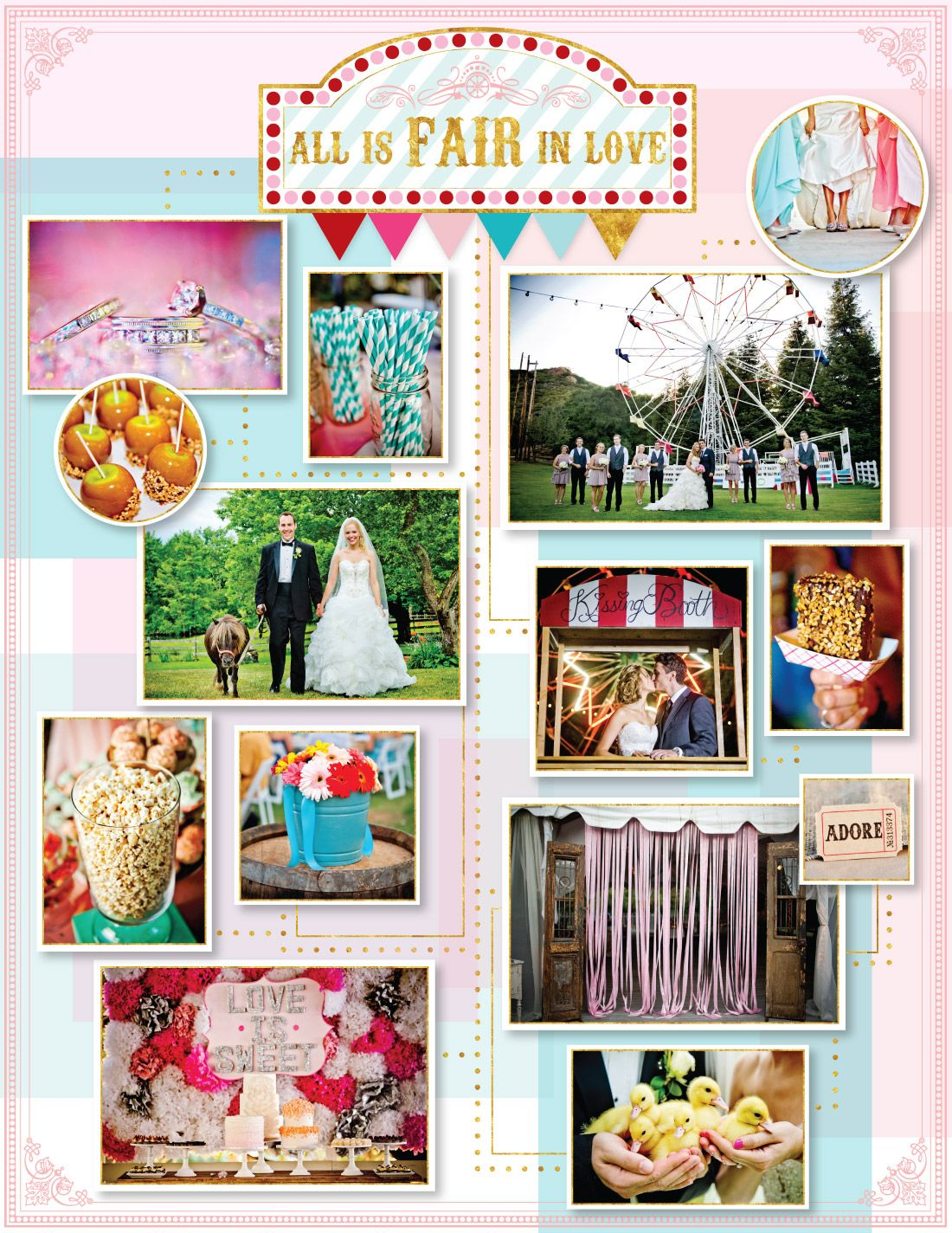 A Fair Style Affair Wedding Inspiration For County Themed Celebration See More At Www Truephotographyweddings