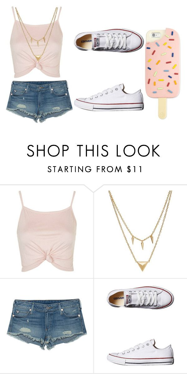 """""""Untitled #614"""" by sammi-mo ❤ liked on Polyvore featuring Topshop, Edge of Ember, True Religion, Converse and Tory Burch"""