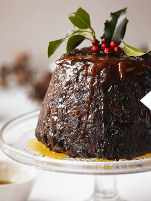 baileys christmas pudding with baileys syrup recipe