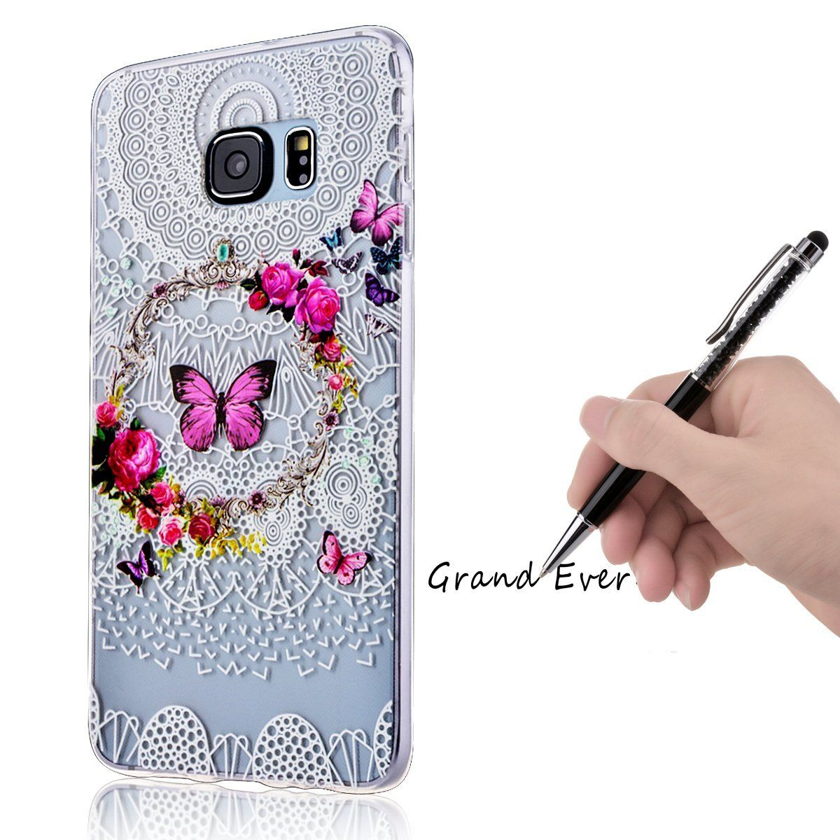 coque motif galaxy s6 edge