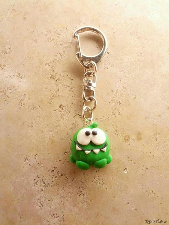 Cut the rope anh nger handgemacht fimu fimo for Schmuck basteln ideen