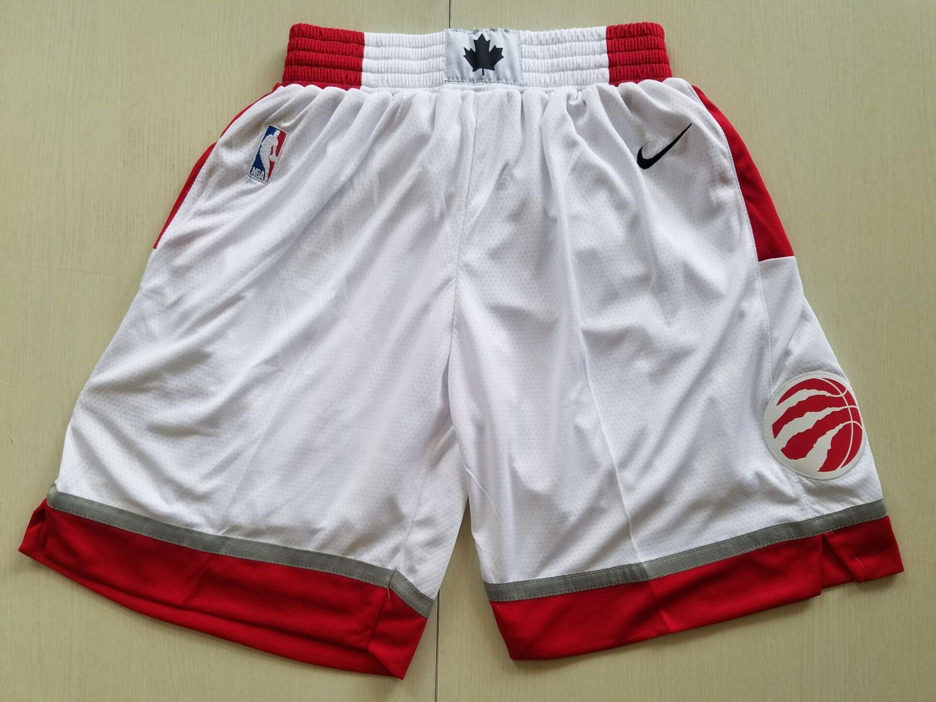 New Men/'s Toronto Raptors Kawhi Leonard Kyle Lowry Basketball pants shorts Red