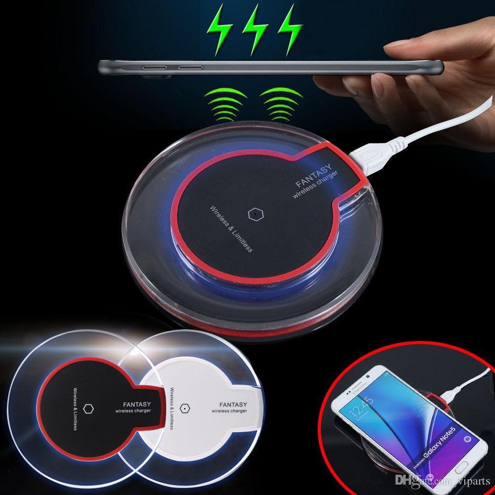 Cheap FANTASY Qi Wireless Charging Transmitter Mat S6 Qi Charger Pad