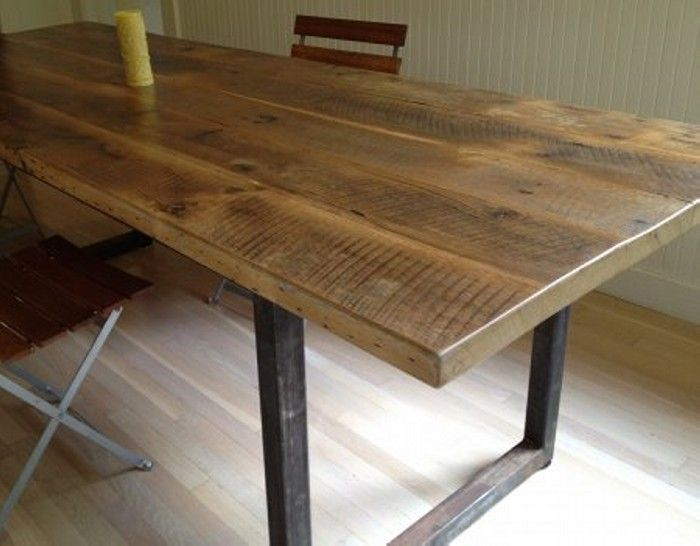 Reclaimed Wood Dining Table Designs