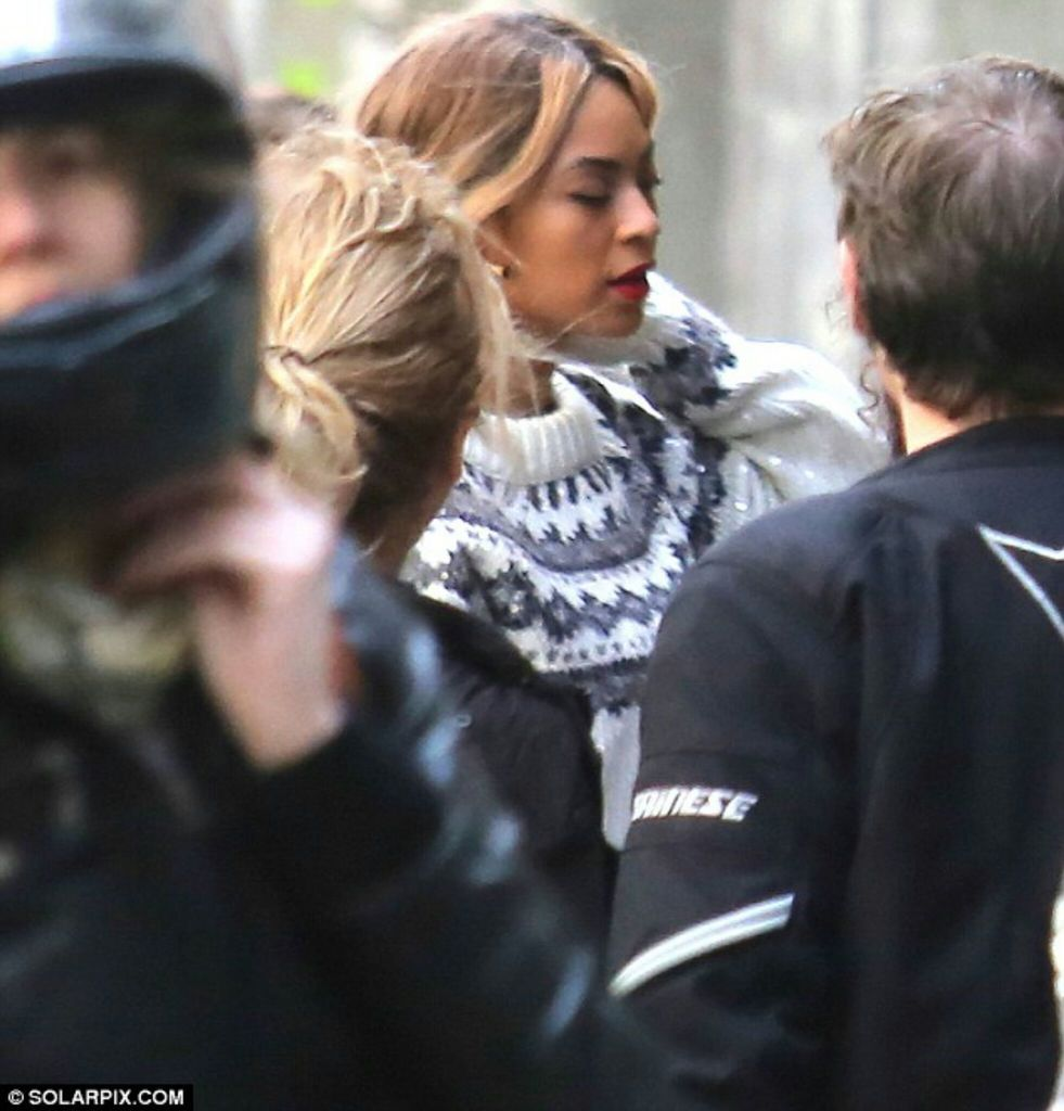 Beyoncé At Sagrada Familia Barcelona Spain 23.03.2014