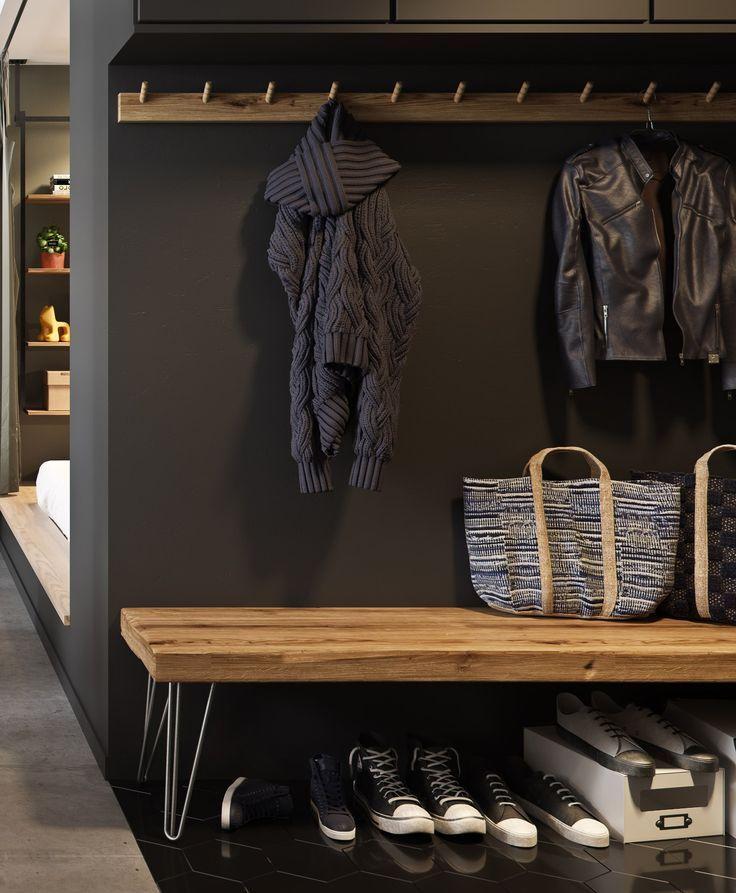 Deco Petite Entree Maison Bureau Ikea, Meuble Chaussure Entrée