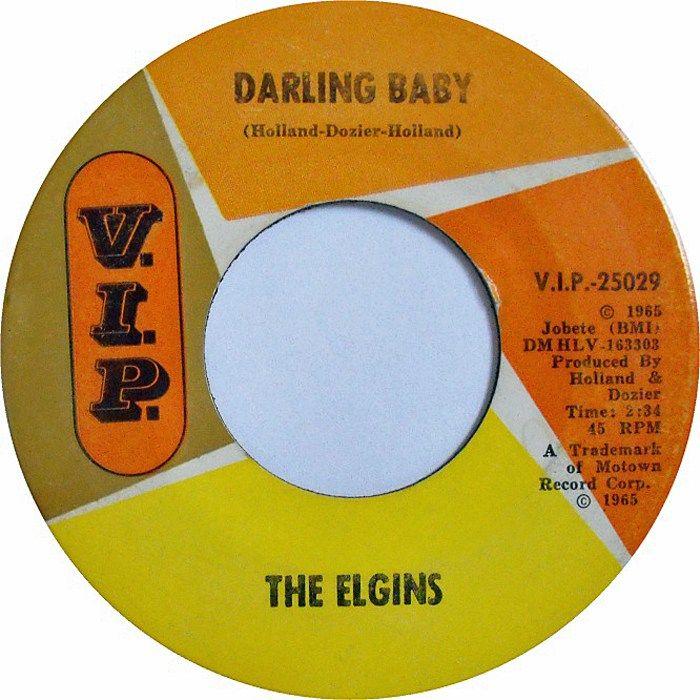 Darling Baby - The Elgins (1965) | Elgin, Motown, Darling