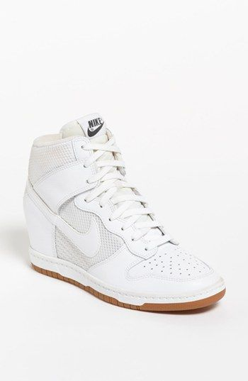 746eeefeec38 Loving these Nike Dunk Sky Hi Wedge Sneaker (Women) available  Nordstrom  And I m not even into the wedge sneaker trend.